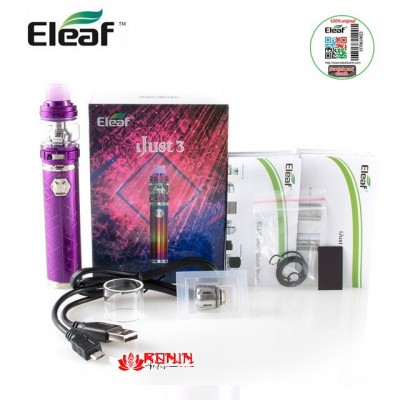 IJust 3 KIT  6,5ml -PURPLE- *ISMOKA ELEAF*
