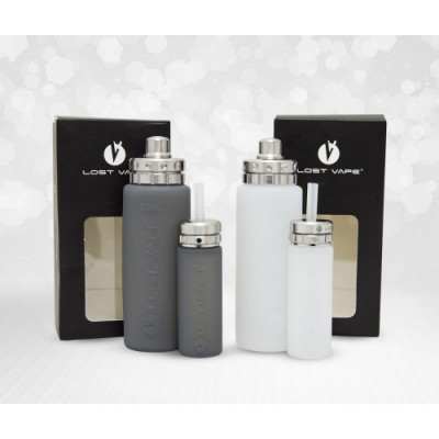 Silicone Bottles kit- BLACK-*LOST VAPE*