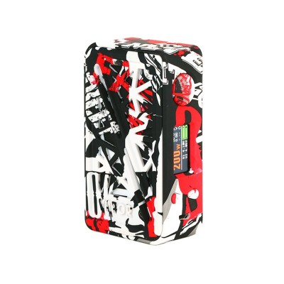 SubVerter 2 BOX MOD  -BLACK RED- *VAPOR STORM*