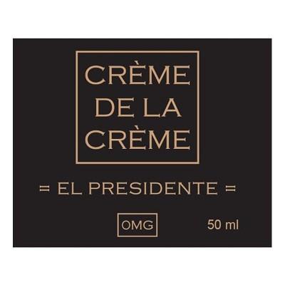 El Presidente 50ml Mix&Vape  nic 0 *Crème De La Crème*