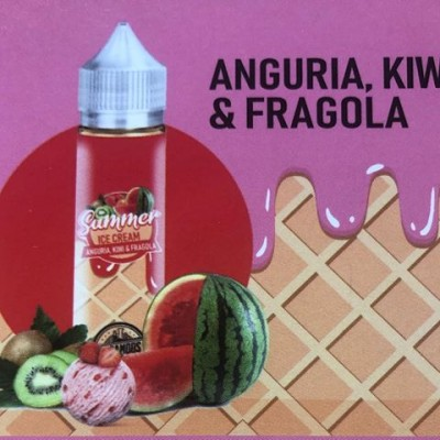 Anguria Kiwi & Fragola  -Shot 20ml- *DREAMODS*
