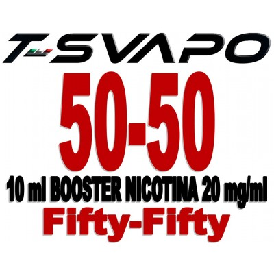 BOOSTER NICOTINA 50-50 10 ML NICOTINA 20 MG/ML  *T-STAR*