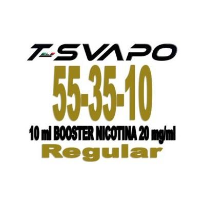 Booster Nicotina 55/35/10 20Nic 10ML *T-SVAPO*