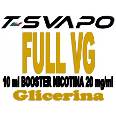 BOOSTER NICOTINA FULL VG 10 ML NICOTINA 20 MG/ML *T-STAR*
