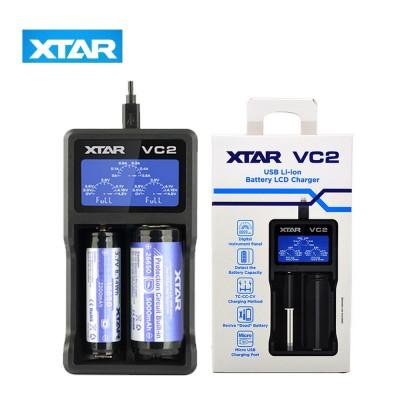 Carica Batteria 2 posti VC2 *XTAR*