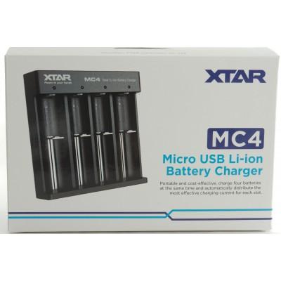 Carica Batteria 4 posti MC4 *XTAR*