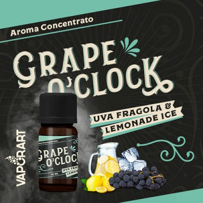 AROMA GRAPE O' CLOCK 10ML-  *VAPORART*