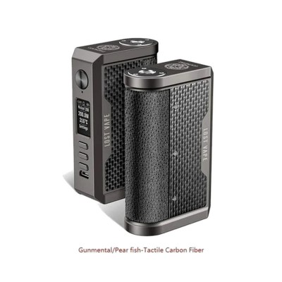 Centaurus Box  DNA250C 200W -GUNMETAL Carbon Fiber- *LOST VAPE*