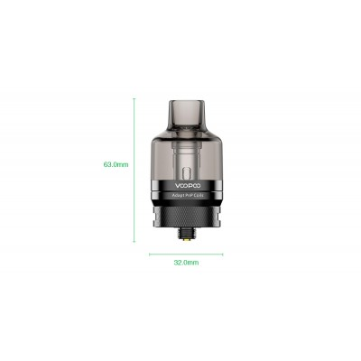 Pnp Pod tank 4,5ml -BLACK- *VOOPOO*