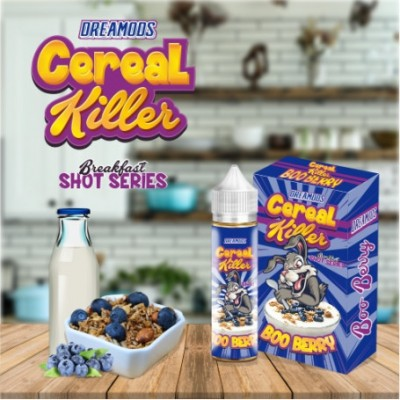 BOO BERRY-CEREAL KILLER- -Shot 20ml- *DREAMODS*