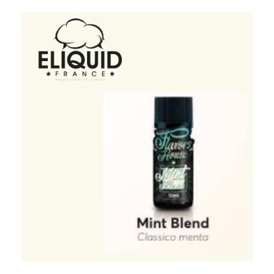 Mint Blend 10ml -FLAVORS HOUSE- *ELIQUIDFRANCE*
