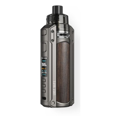 Kit URSA 100W -GUNMETAL/EBONY WOOD- *LOST VAPE*