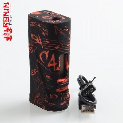 ECO BOX MOD -VAPE ON BLACK- *VAPO STORM*