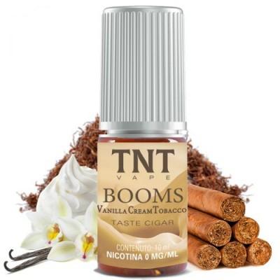 Booms Vanilla Cream Tobacco 10ML 16nic*TNT VAPE*