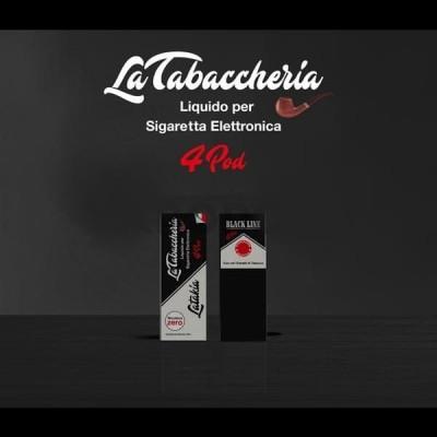 Latakia BLACK LINE 4POD 6nic 10ML *LA TABACCHERIA*