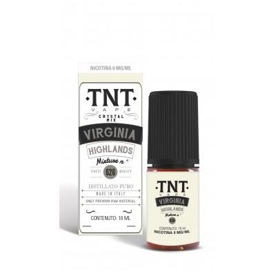 Virginia Highlands Distillato Puro 09 nic 10ML *TNT VAPE*