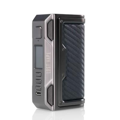 Box Thelema DNA 250C - GUNMETAL/FIBRA DI CARBONIO- LOST VAPE